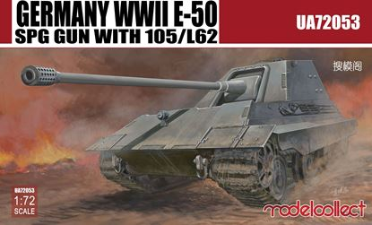 Picture of Germany WWII E-50 SPG GUN with 105/L62